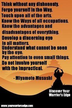Musashi, quote