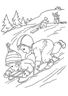 - Free, printable coloring pictures of Winter provide hours of online and at-home fun for kids. Summer, spring, fall and winter coloring pages and pictures too! Horse Coloring Pages, Cool Coloring Pages, Printable Coloring Pages, Adult Coloring Pages, Coloring Pages For Kids, Coloring Books, Free Coloring, Christmas Coloring Sheets, Winter Fun