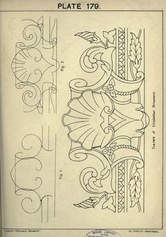 Cusack's freehand ornament. A text book with ch...:
