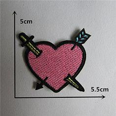 FairyTeller High Quality Mixture Sell Patch Hot Melt Adhesive Applique Embroidery Patch Diy Clothing Accessory Patch 1Pcs Sell C432-C449 * You can find more details by visiting the image link.