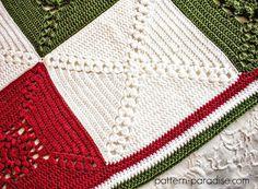 Rosary Hill Blanket CAL - Week 4 Finishing