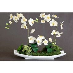 Flores artificiales on pinterest silk flower for Orquideas artificiales
