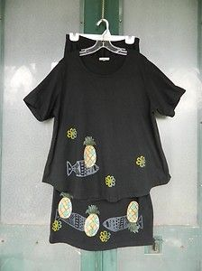 Ooooh, pretty Focus outfit with drawstring in the back of the top. Too bad it's a big size.