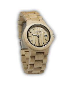 Loving this Ely Series Wood Watch by JORD