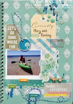 Karyn's Crafting Obsession: Red SMASH folio