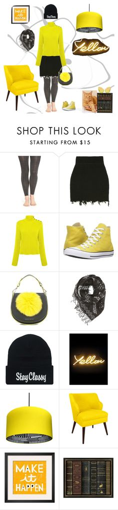 """""""Make It Happen"""" by christined1960 ❤ liked on Polyvore featuring Lemon, RED Valentino, Converse, Orciani, Charlotte Russe, Seletti, Skyline and Pottery Barn"""