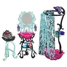 Monster High, Room Furniture, Lagoona's Shower Tesco, £25