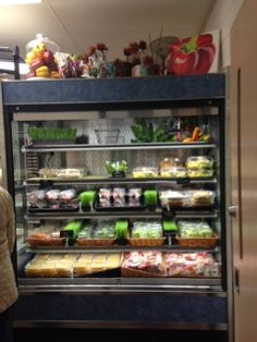 """Scott Middle School added a """"WOW"""" factor to  their existing grab n go case that helped increase student participation."""