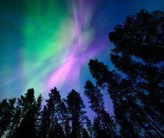Pink Northern Lights by Nitrok on DeviantArt