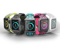 i-Blason Band Compatible with Apple Watch 42 mm 2015 Release, Unity Series Premium Hybrid Protective Bumper Protective Case [Not Compatible with 38 mm] (Black) Apple Watch 42, Apple Watch Series 3, Apple Watch Bands Fashion, Apple Watch Accessories, Apple Wallpaper, Wearable Technology, Apple Products, Looks Cool, Fitness Tracker
