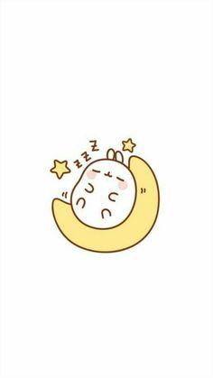 Unicornios Wallpaper, Cute Pastel Wallpaper, Kawaii Wallpaper, Kawaii Bunny, Molang, Cute Cartoon Wallpapers, Kawaii Drawings, Aesthetic Anime, Cute Art