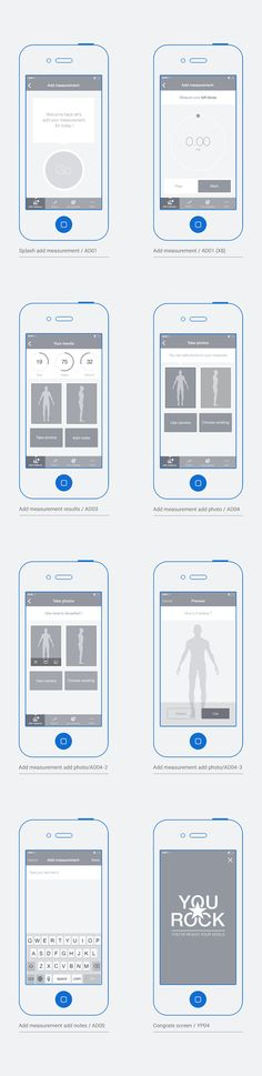 it - An iOs app - Branding, UX and UI by Grégoire Vella, via Behance App Ui Design, Mobile App Design, User Interface Design, Flat Design, Layout Design, Design Design, Graphic Design, Design Thinking, Ui Prototyping