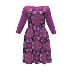 #SAGE: Mary & Anne's Yummy Plummy Dress