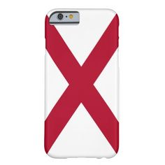 Alabama flag, American state flag iPhone 6 Case
