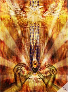 """24x36"""", more like it. art based on tool, who's art is usually from alex grey (or adam jones). love love love"""