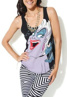 Clothing/Tank Tops: Ursula Tank Top; from The Little Mermaid