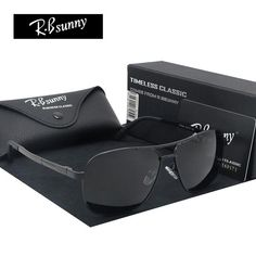 4439336ed5 FuzWeb R.Bsunny Light alloy frame polarized sunglasses brand Men Women  classic sun glasses