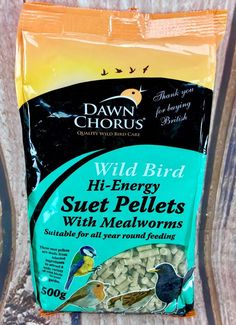 Dawn Chorus 10182 Suet Pellets Mealworms for sale online Wild Birds, Pets, Animals, Ebay, Products, Animales, Animaux, Animal, Animais