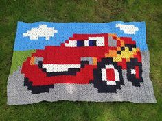 WoW! Lynet McQueen! From www.hobbyuglashule.blogspot.com