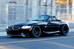 Andrew Golden transformed his M Roadster into a real road burner with a VF supercharger, H&R suspension and APEX wheels. on Bimmer Bmw Z1, Bmw Z4 Roadster, Bmw Convertible, Small Cars, Bmw Cars, Car Manufacturers, Cars And Motorcycles, Luxury Cars, Sport Cars