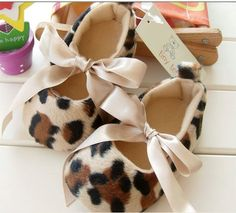 mary jane toddler baby leopard cheetah shoes   I don't have a baby girl, but if I did, she would have these!