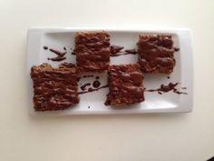 Μπάρες βρώμης με γλάσο φυστικοβούτυρο - σοκολάτα - Diatrofi.gr | Υγιεινή Διατροφή, Ευεξία και Υγεία
