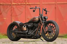 #Harley-Davidson Softail Slim by #Thunderbike