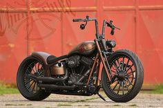 #Harley-Davidson Softail Slim by #Thunderbike