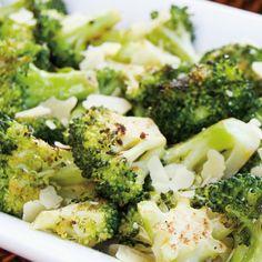 Brokkoli mit Zitrone vom Grill