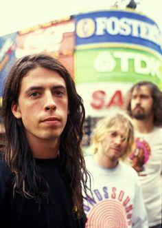 Nirvana : Dave Grohl ; Kurt Cobain ; Krist Novoselic