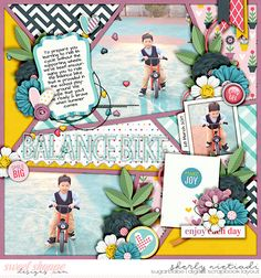 Half pack 185: framed 14 template by Cindy Schneider Happy camper by Becca Bonneville