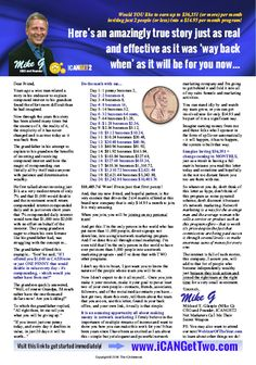 ICANGet2 - Full Page Ad sample
