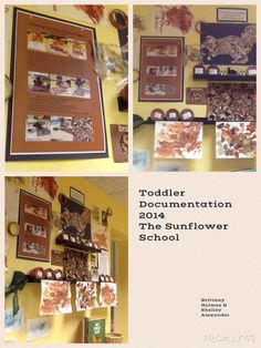 Toddler Documentation using pic collage at The Sunflower school in Orangeville, Ontario. 2015