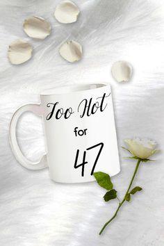 Birthday Coffee Mug For Her, Birthday Gift For Wife, 49 Years Funny Birthday Mug, 49 Years Old Gift Idea, 49 Yr Birthday Gag Gifts
