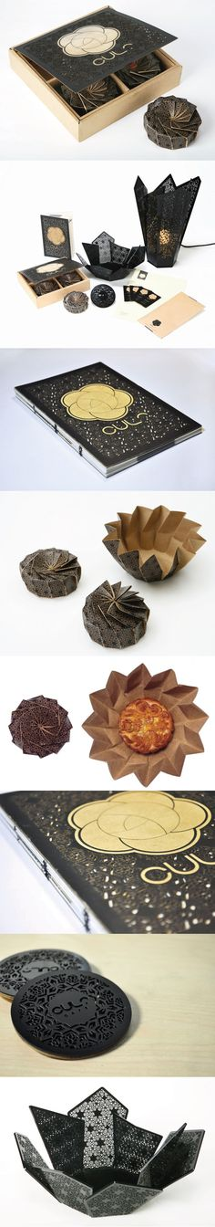 Unique Packaging Design on the Internet, Cult Mooncake #packaging #packagingdesign #mooncake