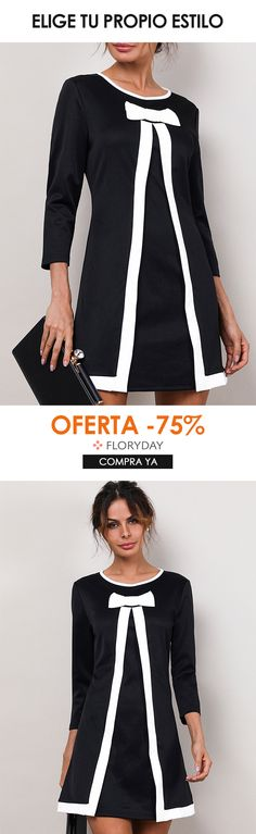 Este vestido es perfecto para cualquier ocasión Floryday Dresses, Dresses For Work, Party Dress, Suits, Blouse, Casual, Sweaters, Shopping, Tops