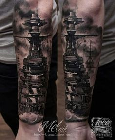 #Bismarck #Tattoo #Sleeve