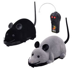 EocuSun Electric Remote Control Mouse Remote Control Animal Toys Pet Cat Toys Mouse Black Brown Grey -- You can find more details by visiting the image link. (This is an affiliate link and I receive a commission for the sales) #MyCat