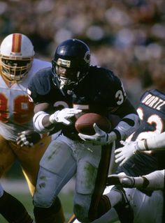 Chicago Bears running back Neal Anderson  1992