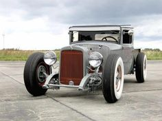 Hot Rod clean, painted, nice design on front suspension... No rat anywhere on this rod.