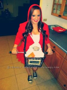 Last-Minute Elliot and ET Costume for Girls ... This website is the Pinterest of costumes
