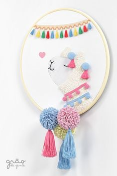 Hand Embroidery Designs, Diy Embroidery, Embroidery Stitches, Embroidery Patterns, Felt Crafts, Diy And Crafts, Sabrina Sato, Inka, Punch Needle
