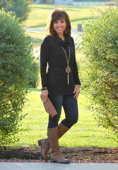 Fall Fashion-Mixing Brown and Black
