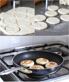 Muffins anglais: pour nos petits dej du dimanche