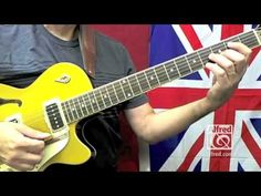 """How to Play """"I Saw Her Standing There"""" by The Beatles on Guitar - Lesson Excerpt Guitar Sheet, Guitar Solo, Guitar Tips, Music Guitar, Playing Guitar, Learning Guitar, Sheet Music, Learn Guitar Chords, Music Chords"""