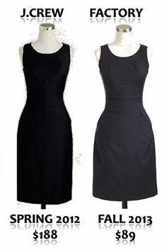 J.Crew Emmaleigh Dress for Less