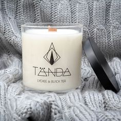 Lychee & Black Tea candle // TANDA candles