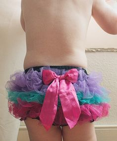 Look at this Bubby & Belle Black Ruffle Diaper Cover - Infant & Toddler on #zulily today!