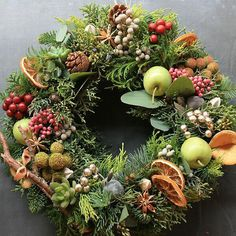 [Christmas Wreaths] Buy Your Christmas Wreaths Online Fast And Easy ** Continue with the details at the image link. Christmas Door Wreaths, Christmas Flowers, Autumn Wreaths, Noel Christmas, Holiday Wreaths, Natural Christmas, Christmas Arrangements, Flower Arrangements, Natal Natural