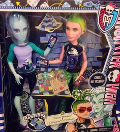 MONSTER HIGH Mansters Two Pack Deuce And Gill Just Released NEW In Hand